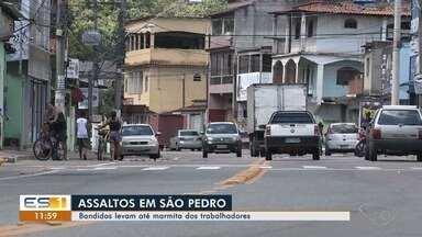 Criminosos levam marmita de trabalhadores em São Pedro - A insegurança na região é constante.
