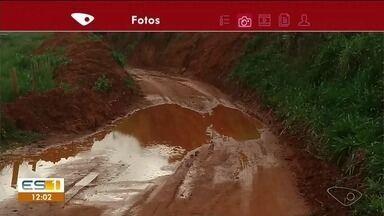 Moradores reclamam de estrada em Anchieta - Eles pedem manutenção no local.