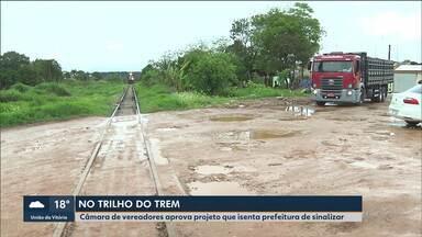 Projeto que isenta Prefeitura da responsabilidade de sinalizar linha férrea é aprovado - De janeiro a setembro, foram registrados cinco acidentes em trilhos de trem.