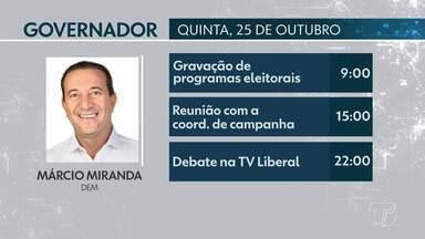 Confira a agenda de campanha dos candidatos que disputam o 2º turno no Pará - Candidatos cumprem agenda na capital e em municípios do interior do estado.
