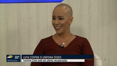 Tipo raro de câncer, linfoma ósseo pode ser curado se diagnosticado a tempo - A repórter Leciane Lima falou sobre a luta contra a doença.