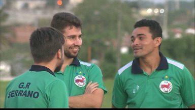 Serrano-PB começa a se organizar para a próxima temporada - Técnico Luciano Silva se reuniu com alguns jogadores que vão defender o Lobo da Serra no próximo ano