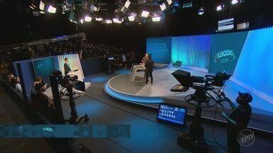 Candidatos ao governo de SP participam de debate na TV Globo - O debate será mediado pelo jornalista César Tralli.