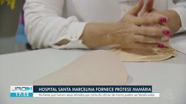 Hospital Santa Marcelina fornece prótese mamária - Mulheres que tiveram seios retirados por conta do câncer de mama podem ser beneficiadas.