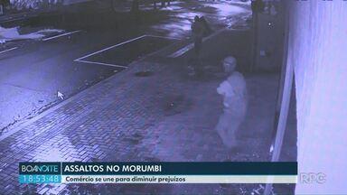 Assaltos preocupam moradores do bairro Morumbi - Nesta madrugada mais uma loja foi assaltada na região.
