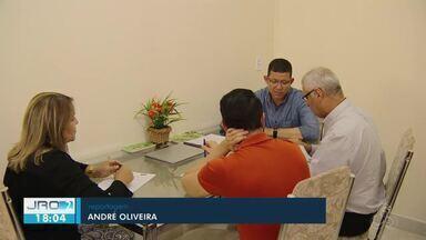 Confira o dia de campanha do Coronel Marcos Rocha - Candidato ao governo se preparou para o debate nesta quinta-feira (25).