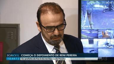 Começa o depoimento de Reni Pereira na Justiça Federal - Ex-prefeito de Foz é réu na Operação Pecúlio.