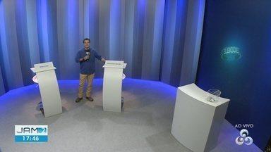 Tudo pronto para último debate entre candidatos ao Governo do Amazonas - Rede Amazônica transmite debate.