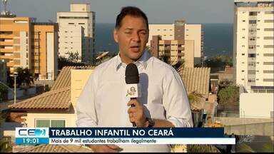 Mais de 9 mil estudantes trabalham ilegalmente no Ceará - Saiba mais em g1.com.br/ce