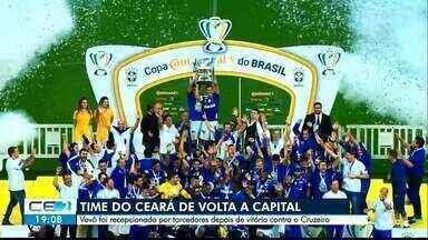 Time do Ceará volta para Fortaleza - Saiba mais em g1.com.br/ce