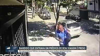 Homem de 61 anos é preso por roubar apartamentos na Zona Sul do Recife - Ex-presidiário levava joias e artigos eletrônicos das residências.