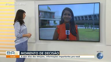 BMD tira dúvidas sobre o segundo turno das eleições na Bahia - A votação acontece neste domingo (28), em todo o Brasil.