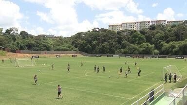 Vitória fecha treinos para jogo contra o São Paulo; partida acontece nesta sexta (26) - Times se enfrentam na 31ª rodada do Campeonato Brasileiro, no Barradão.