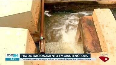 Abastecimento de água volta ao normal em Mantenópolis - Cidade era a única da região que ainda estava fazendo racionamento.