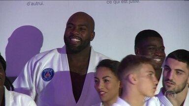 PSG apresenta futura geração francesa de Judô - PSG apresenta futura geração francesa de Judô.