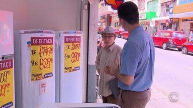 Campanha da CEEE dá desconto de 50% em compra de geladeiras - Iniciativa visa a economia de energia.