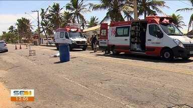 Acidentes de trânsito são registrados neste sábado (27) em Aracaju - Duas pessoas morreram e uma ficou ferida.