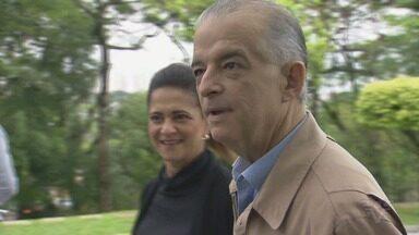 Confira a agenda do candidato ao Governo de SP Márcio França (PSB) - João Doria (PSDB) e Márcio França (PSB) tiveram programações em locais diferentes na véspera das eleições.