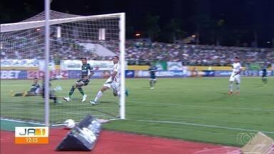 Confira o desempenho dos times goianos no Campeonato Brasileiro - Goiás e Vila Nova enfrentaram adversários de outros estados na sexta-feira (26).