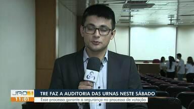 TRE realiza auditoria das urnas neste sábado - Em Rondônia, mais de um milhão de eleitores vão votar neste segundo turno.