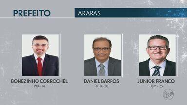 Araras terá eleição para prefeito neste domingo - Urnas foram levadas para as seções eleitorais na manhã deste sábado (27).