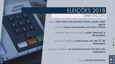 População do Oeste Paulista se prepara para o 2º turno das eleições - Veja as principais orientações para este domingo (28).