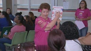Mutirão de câncer de mama atende cerca de mil mulheres em Bauru - Evento promovido pelo Grupo Amigas do Peito contou com participação de 42 médicos voluntários. Casos suspeitos já tiveram agendadas mamografias de urgência.