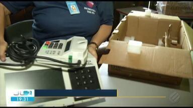 Urnas eletrônicas usadas no 2º turno das eleições são testadas pelo TRE do Pará - Processo eleitoral no Pará é um dos mais caros do país por conta da dificuldade de deslocamento.