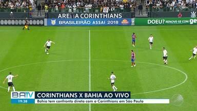 Bahia enfrenta o Corinthians em São Paulo - Confira as notícias do tricolor baiano.