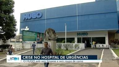 Pacientes seguem reclamendo de atendimento no Hugo, em Goiânia - Segundo eles, faltam itens de higiene e serviços de limpeza no hospital.