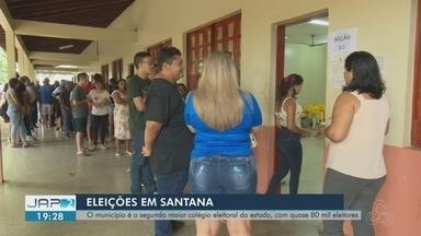 Mais de 77 mil eleitores devem votar no segundo turno em Santana - Segundo maior colégio eleitoral do Amapá se organiza para o segundo turno. O município de Santana tem mais 77 mil eleitores aptos a votar.