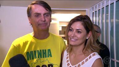 Michelle Bolsonaro fala sobre a candidatura de Jair Bolsonaro - Michelle Bolsonaro fala sobre a candidatura de Jair Bolsonaro