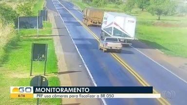 Câmeras de monitoramento multam imprudentes na BR-050, entre Goiás e Minas Gerais - Equipamentos começaram a ser utilizados para aplicar infrações.