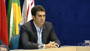 Helder Barbalho, do MDB, é eleito governador do estado do Pará - Helder derrotou Márcio Miranda, do DEM, na disputa do segundo turno, com 55,43% dos votos válidos.