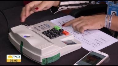 """Abertura das eleições iniciou com a emissão da """"Zerésima"""", pela urna eletrônica no TRE - Esse procedimento marcou o início oficial das eleições no estado."""