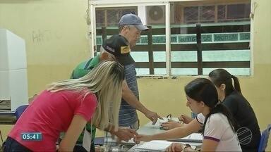 Domingo de eleições em Sinop - Domingo de eleições em Sinop