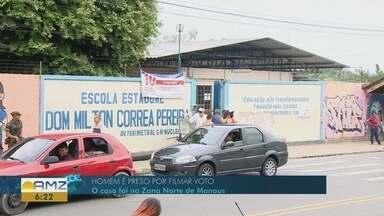 Jovem é preso por filmar voto em Manaus - Caso ocorreu na Zona Norte de Manaus.