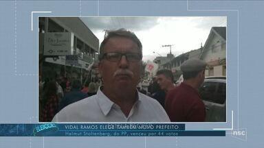 Helmut Stoltenberg, do PP, é eleito prefeito de Vidal Ramos - Helmut Stoltenberg, do PP, é eleito prefeito de Vidal Ramos
