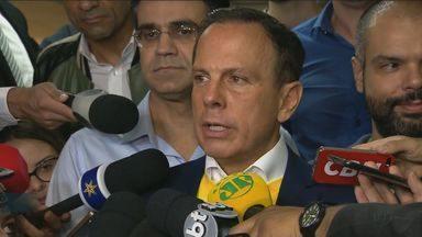 João Doria, do PSDB, é eleito governador de São Paulo - Disputa foi a mais apertada em todas as regiões do país.