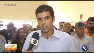Helder Barbalho, eleito governador do Pará, fala sobre primeiras medidas - Helder ganhou as eleições com 55% dos votos.