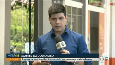 Homem mata mulher e tira a própria vida em Douradina - Segundo as investigações o homem não aceitava o fim do relacionamento.