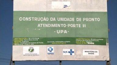 Obras de UPA em Arapiraca são retomadas - Serviços estavam parados desde julho deste ano.