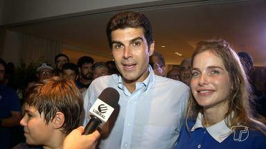 Helder Barbalho, do MDB, é eleito governador do Pará com mais de 55% dos votos - Ele venceu Márcio Miranda, com quem disputou o segundo turno das eleições.