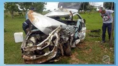 Domingo de acidentes com mortes em MS - Foram duas mortes em rodovia do interior e duas em Campo Grande.
