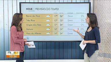 Início da semana é marcado por sol entre nuvens carregadas no Sul do Rio - Chuva pode cair de forma rápida e isolada em algumas cidades da região.