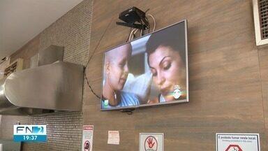 Moradores de Rinópolis aderem ao sinal digital de TV - Sinal analógico será desligado em novembro no Oeste Paulista.