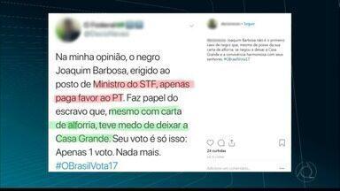JPB2JP: PF abre inquérito para investigar conduta de policial federal paraibano - Denúncia: fez postagem de conteúdo racista contra ex-presidente do STF, Joaquim Barbosa.