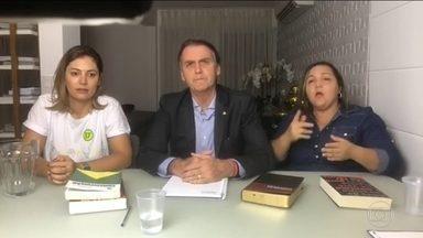 'Compromissos serão cumpridos', diz Bolsonaro em mensagem ao Congresso - Bolsonaro conta com bancadas temáticas para tentar aprovar pautas como maioridade penal, desarmamento, licenças ambientais, aborto, entre outros temas polêmicos.