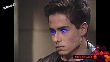 Reveja cenas dos olhos de laser da novela 'Olho por Olho' - Tema do programa é halloween.