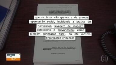 Justiça mineira nega pedido de transferência de policiais paulistas - Quatro policiais civis estão presos desde o tiroteio que terminou em duas mortes em Juiz de Fora